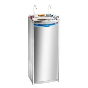 Chemical dosing tank, cold water dispenser